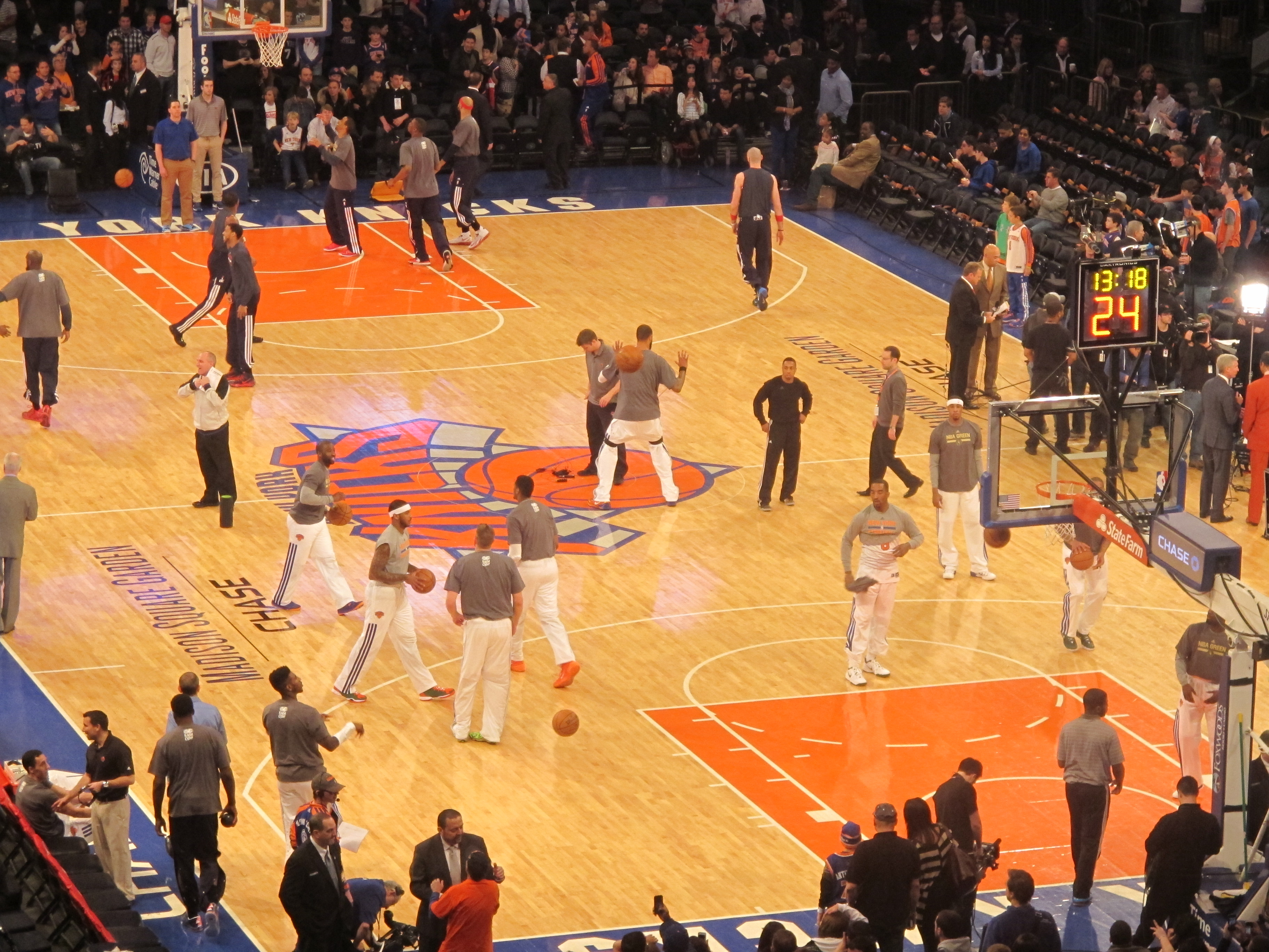 Knicks Madison Square Garden New York Je T 39 Aime